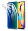 Накладка силиконовая плотная 1mm (Samsung M31) Прозрачная